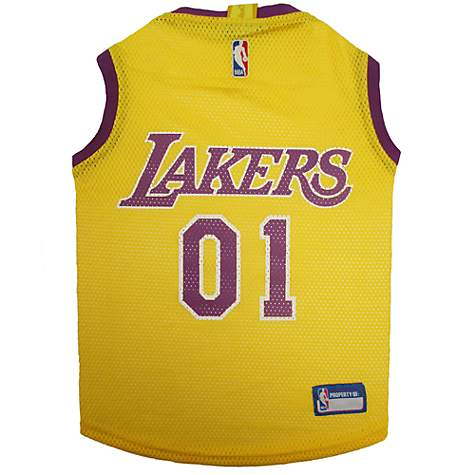 Pets First Los Angeles Lakers Mesh Jersey