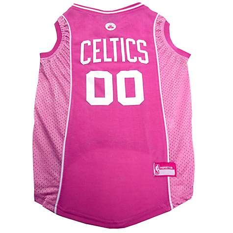 info for 72d58 69aa6 Pets First Boston Celtics NBA Pink Jersey for Dogs, X-Small