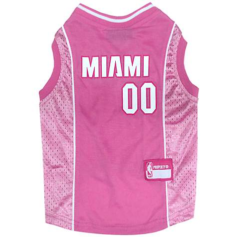 Pets First Miami Heat Pink Jersey