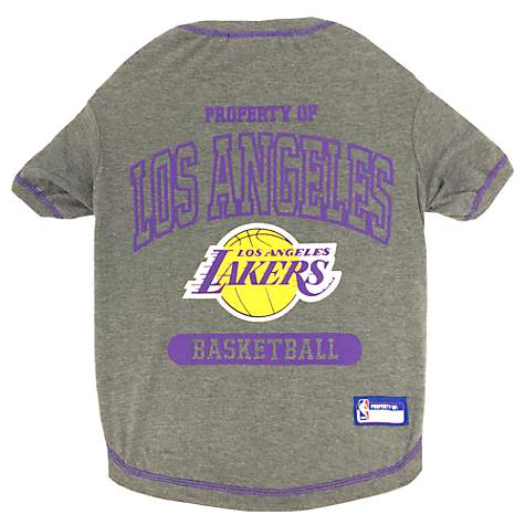 720bc725d1c Pets First Los Angeles Lakers T-Shirt