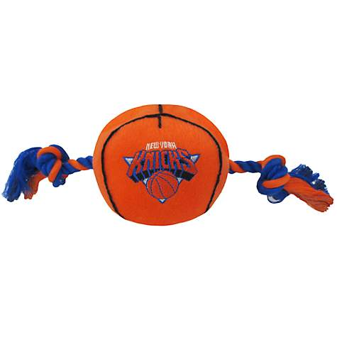 Pets First New York Knicks NBA Plush Basketball Toy for Dogs, X-Large