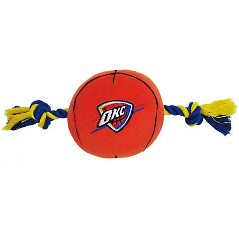 Pets First Oklahoma City Thunder Basketball Toy