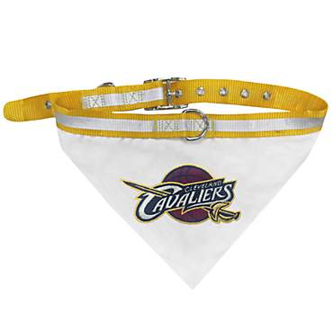 Pets First Cleveland Caveliers Collar Bandana