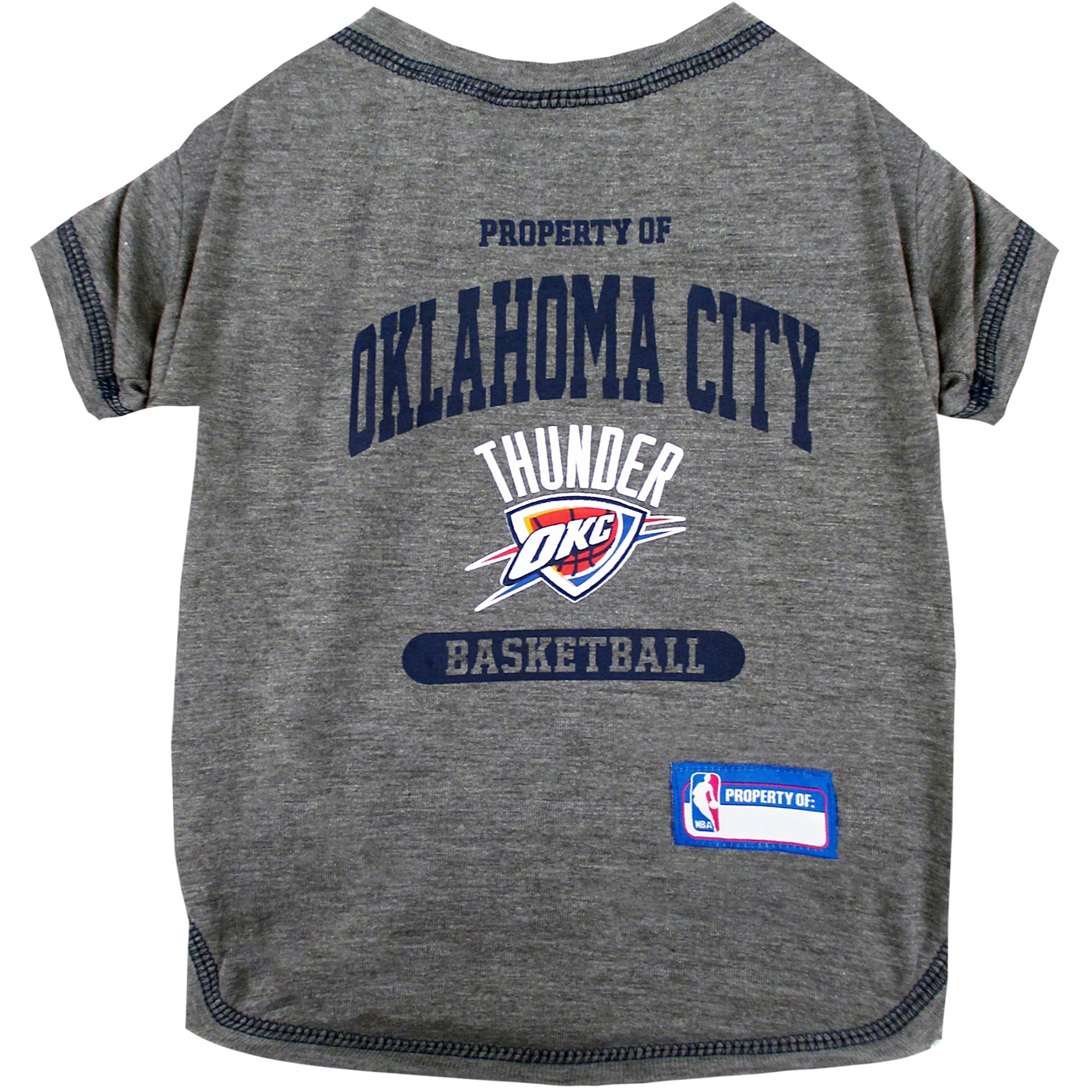 Pets First Oklahoma City Thunder T Shirt Petco