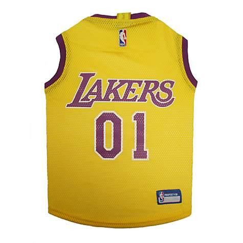 de0bafecbc6 Pets First Los Angeles Lakers Mesh Jersey   Petco