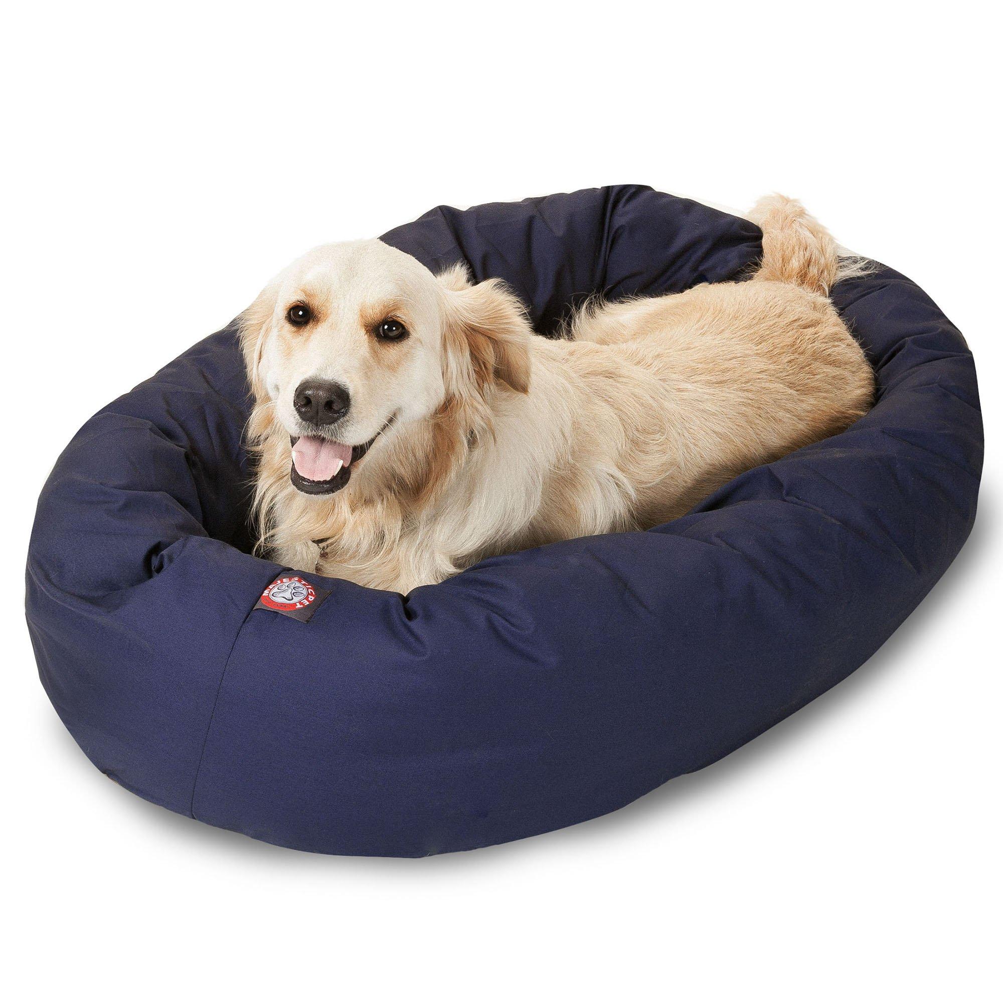 Majestic Pet Blue Bagel Bed Petco