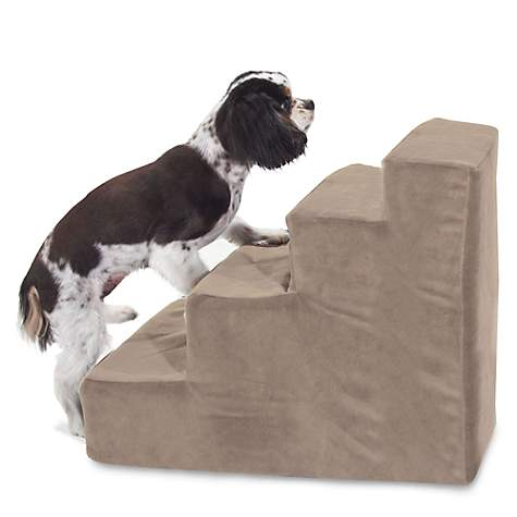 Majestic Pet Products 4 Step Stone Suede Pet Stairs | Petco