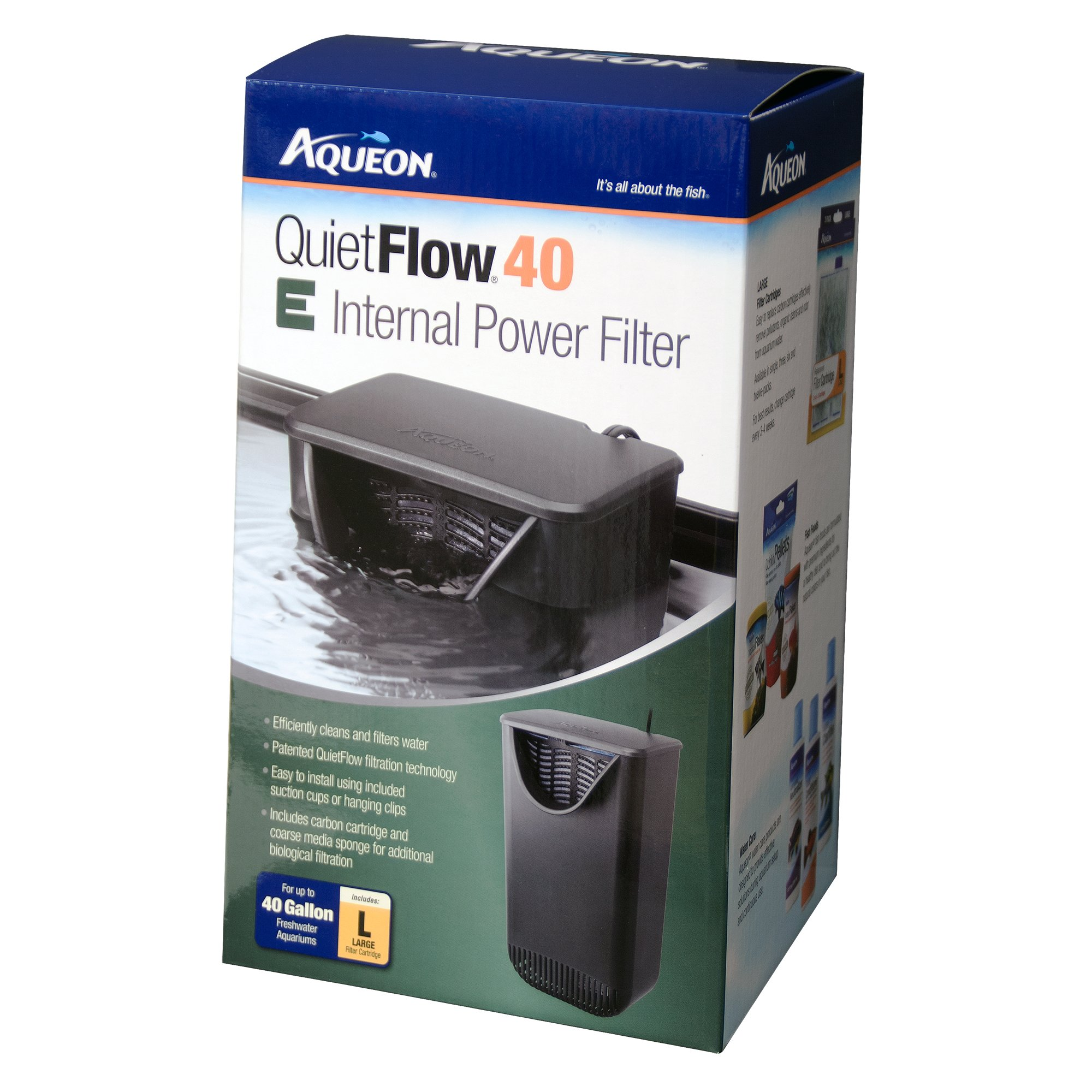 Aqueon filter quietflow internal petco for Petco fish tank filters