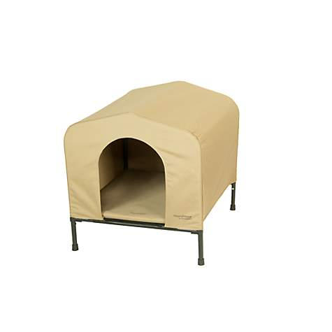 PortablePET Khaki HoundHouse Kennel and Shelter