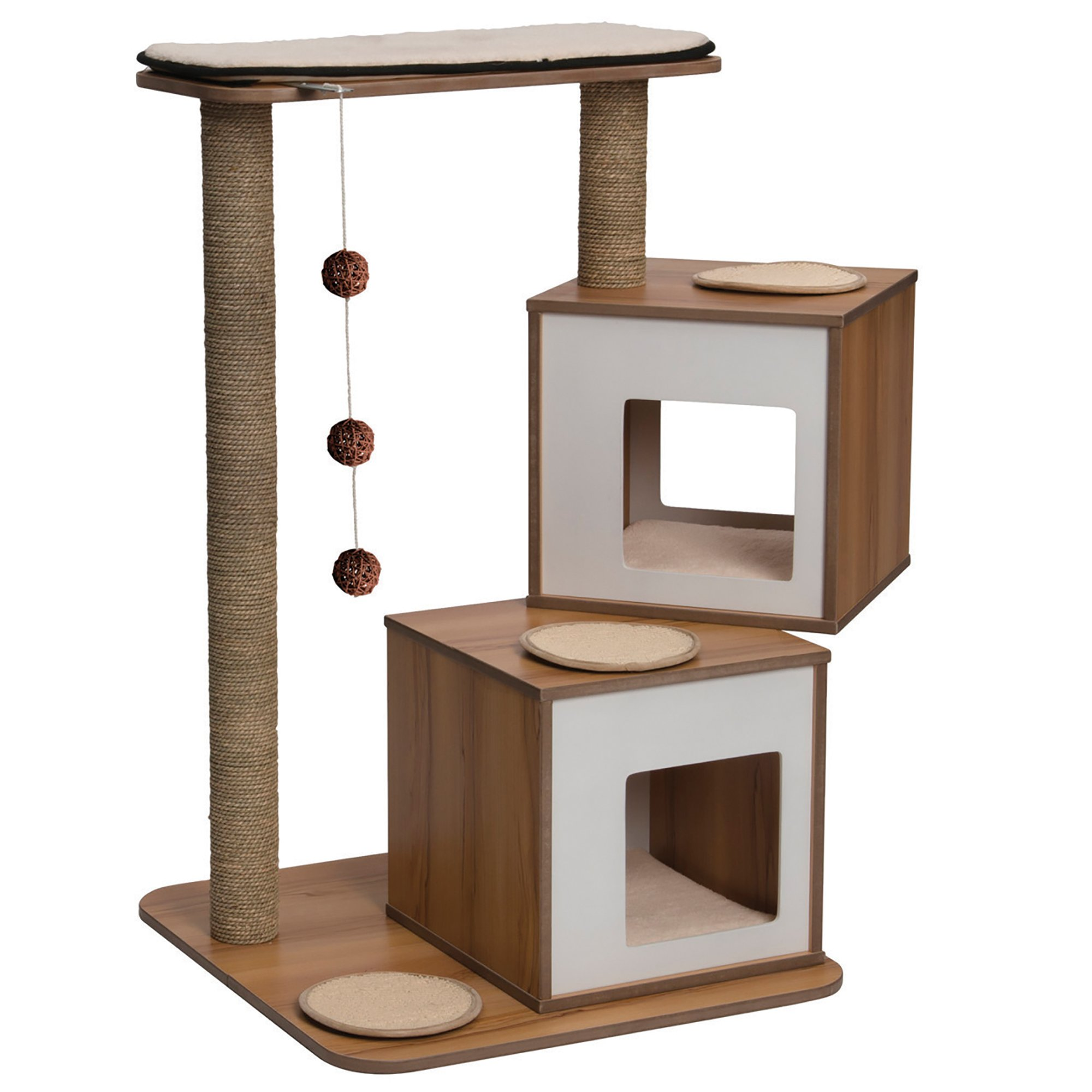 Modern cat condo best 25 modern cat furniture ideas on pinterest cat scratching - Contemporary cat furniture ideas ...