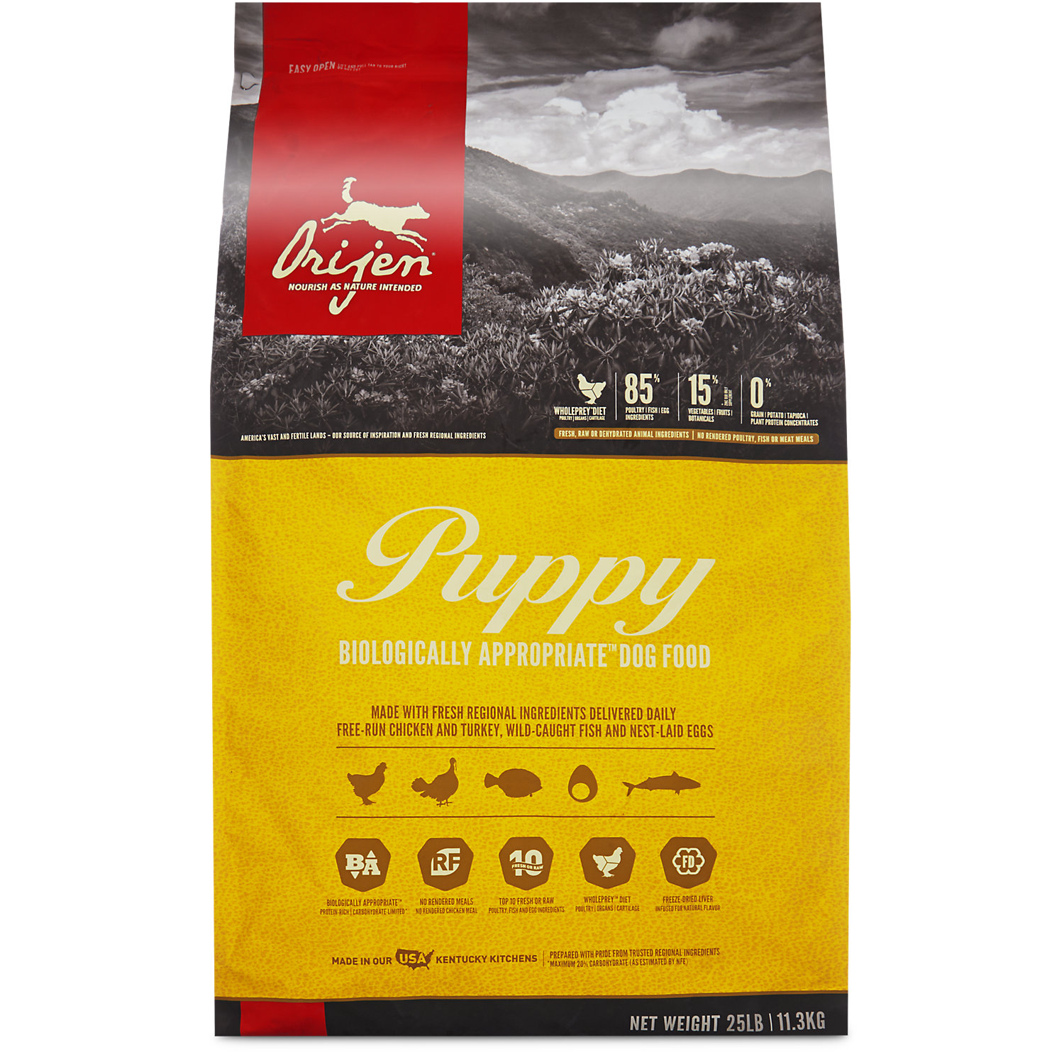 Orijen Grain Free Puppy Dry Dog Food