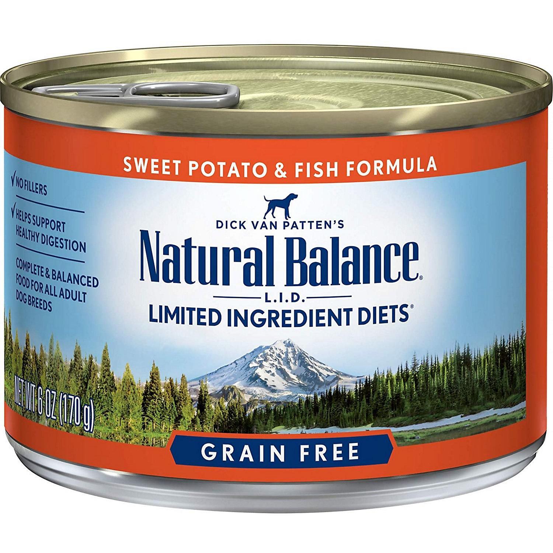 Natural Balance Grain Free Canned Dog Food
