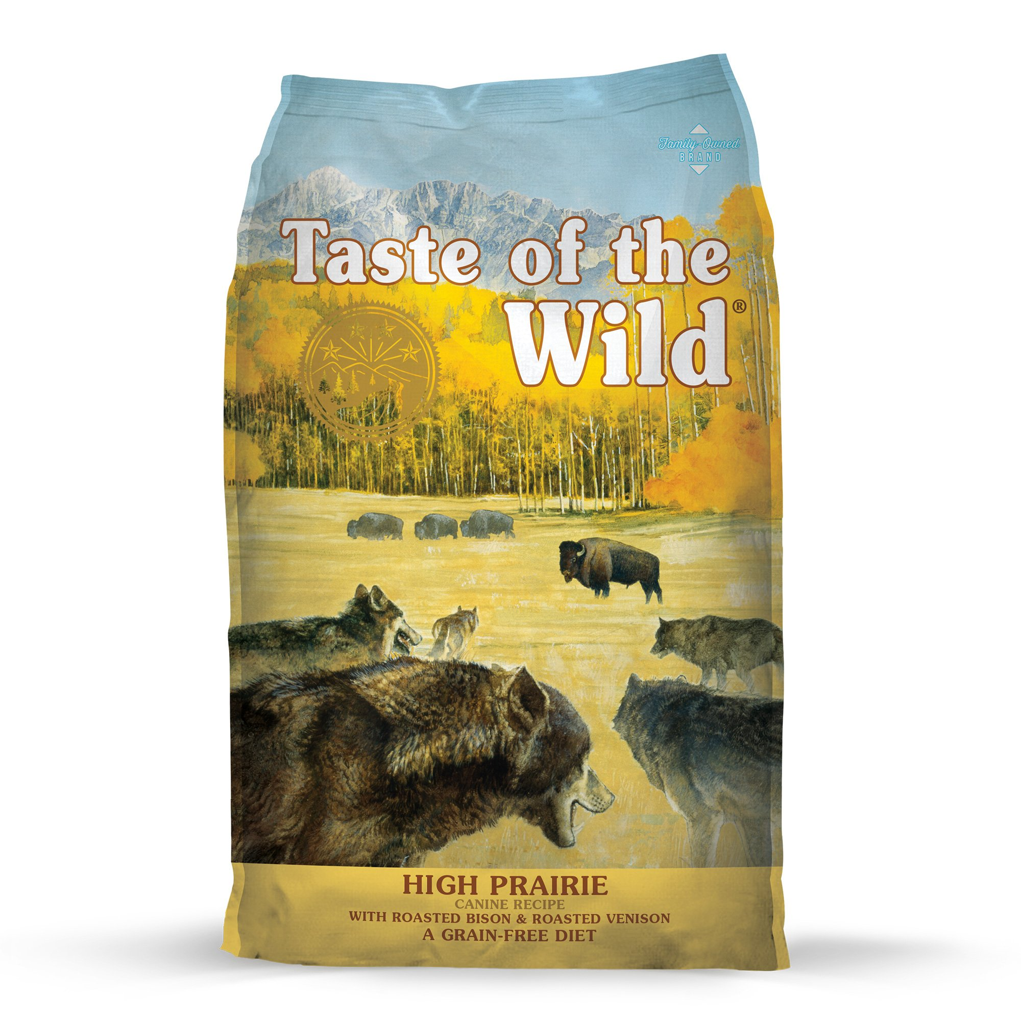 Taste Of The Wild High Prairie Grain Free Roasted Bison Venison Dry Dog Food