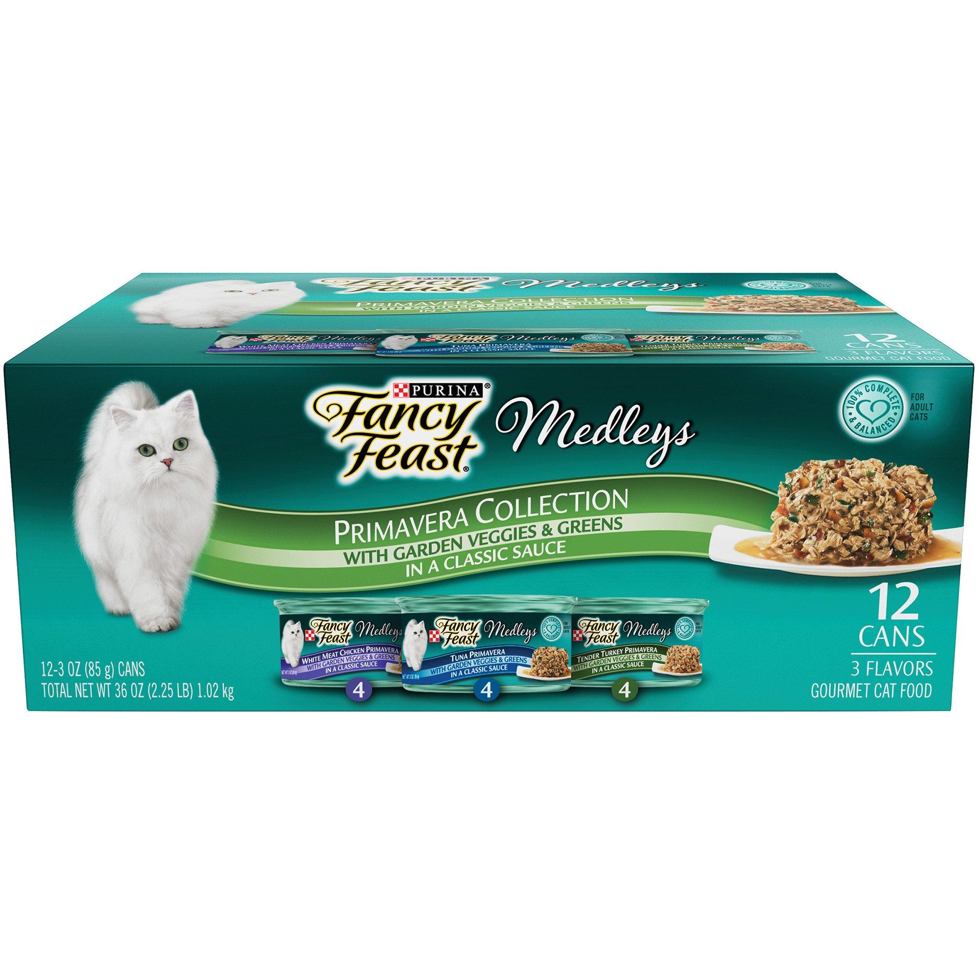 Fancy Feast Elegant Medleys Primavera Variety Pack Adult Canned Cat Food