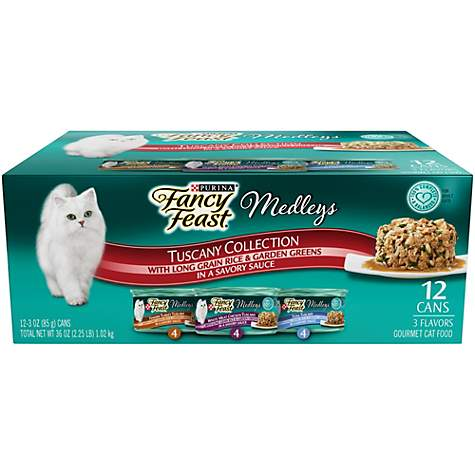 Purina Fancy Feast Medleys Tuscany Wet Cat Food Variety Pack