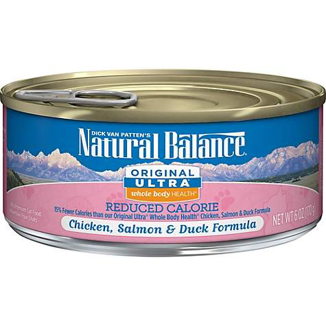 Natural Balance Ultra Reduced Calorie Canned Cat Food