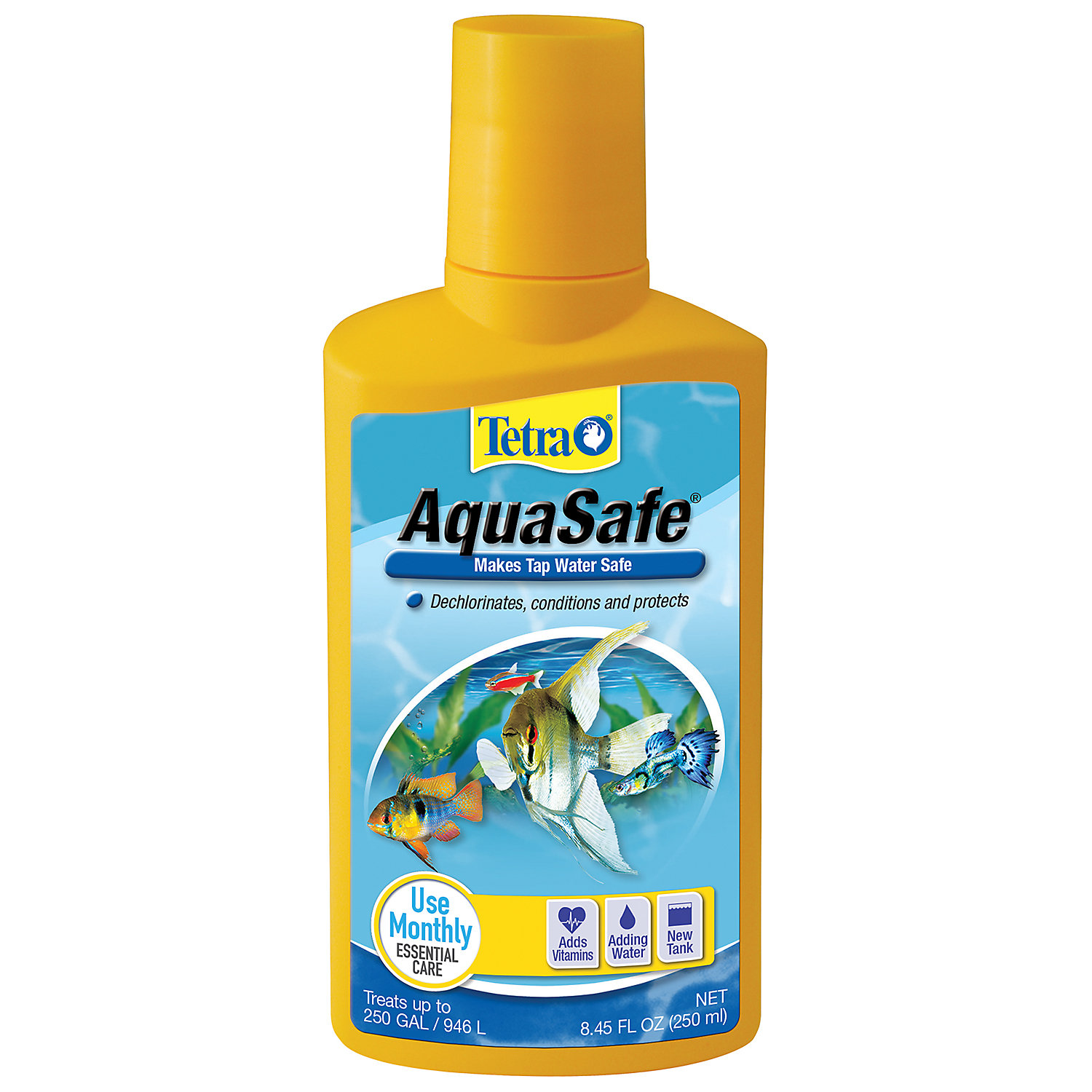 Tetra Aquasafe Water Conditioner 8.45 Fl. Oz.