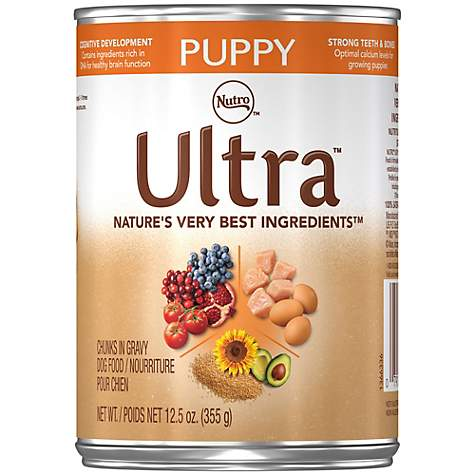 Nutro Ultra Canned Chicken Wet Puppy Food