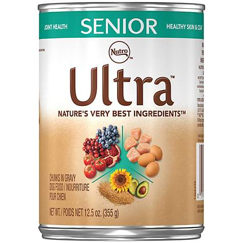 Nutro Ultra Canned Senior Wet Dog Food