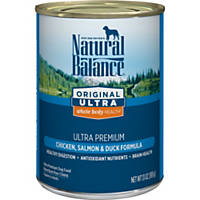 Natural Balance Original Ultra Chicken, Salmon & Duck Canned Dog Food