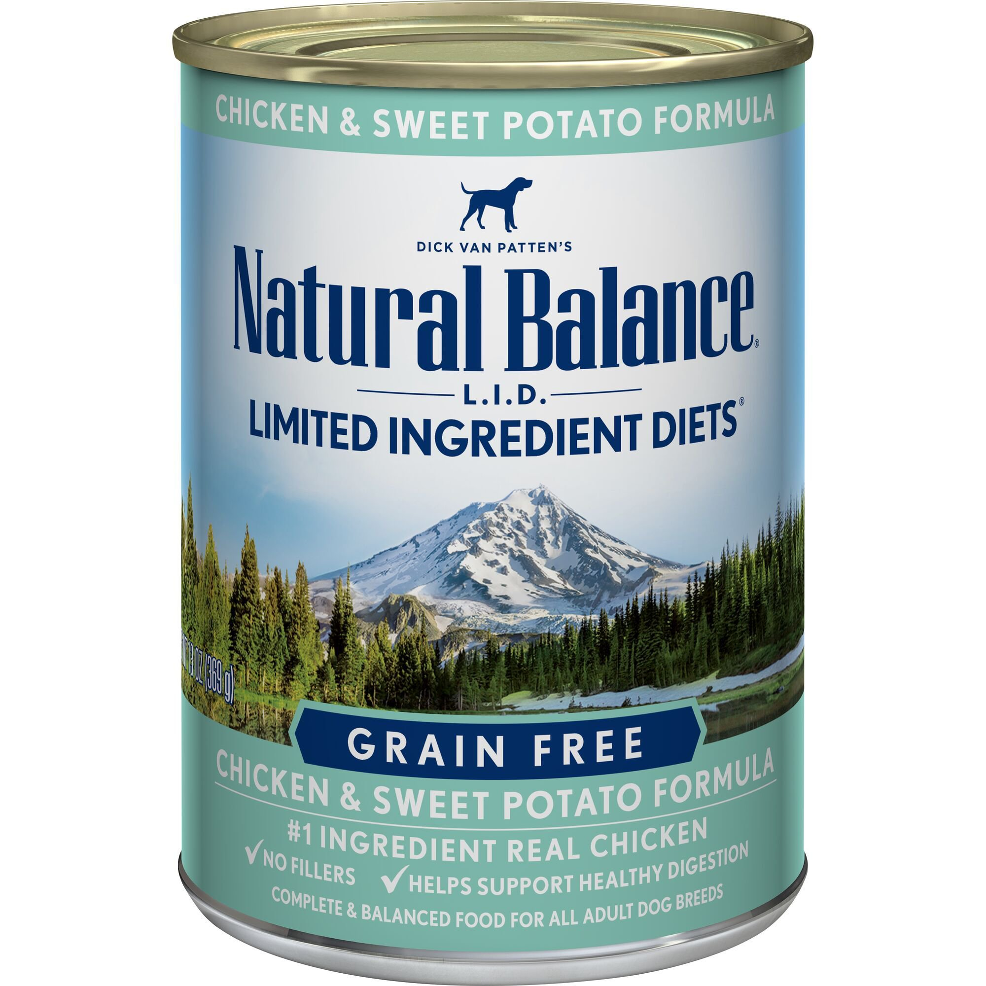 Limited Ingredient Dog Food Can