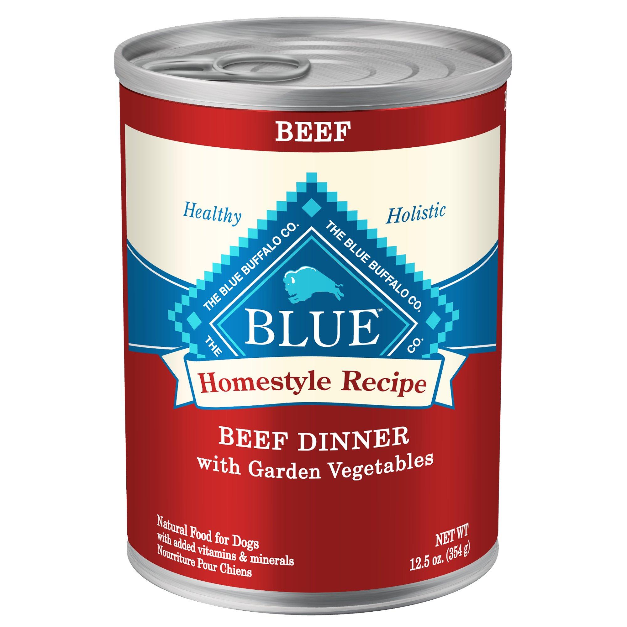 blue buffalo canned dog food