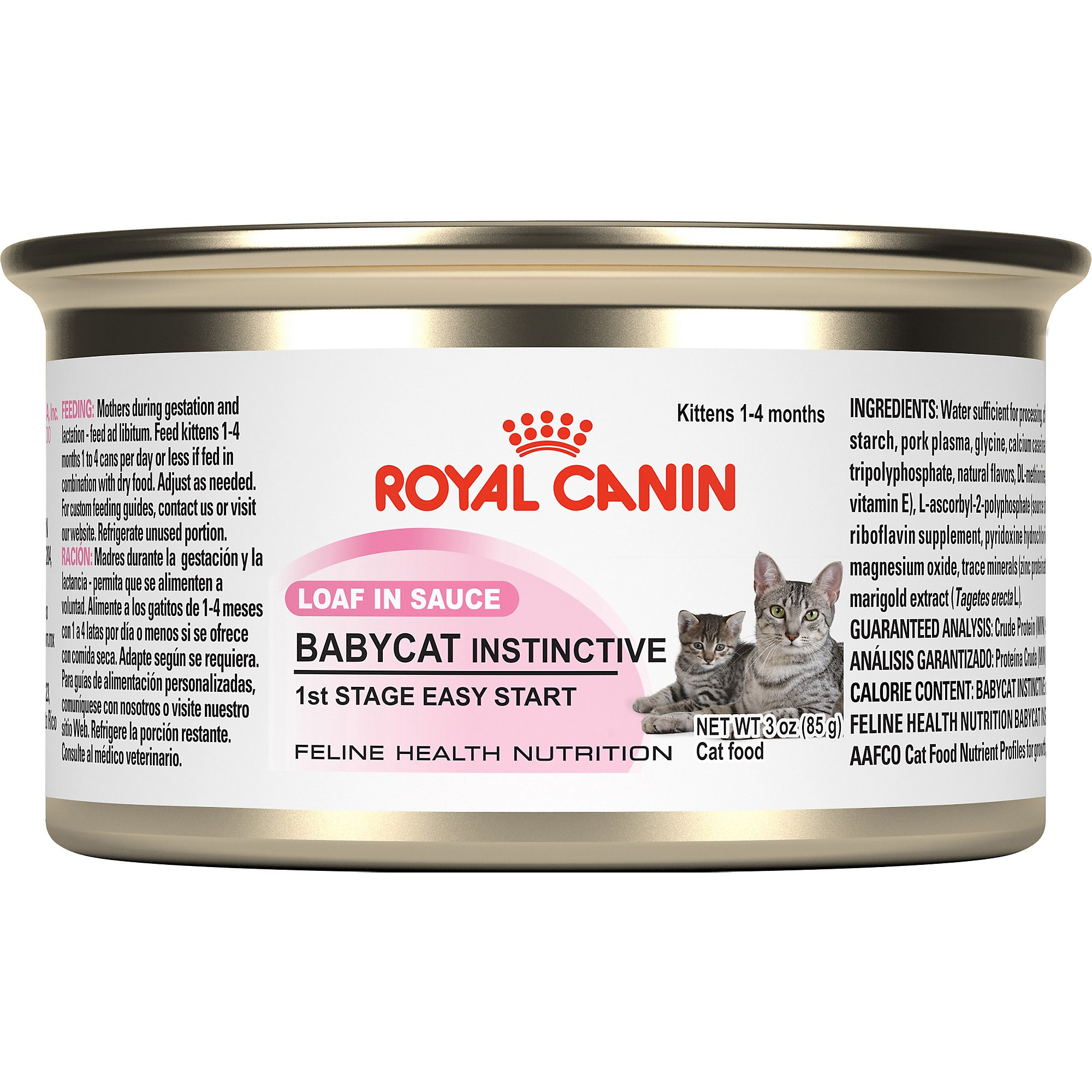 Royal Canin Feline Health Nutrition Baby Cat Instinctive