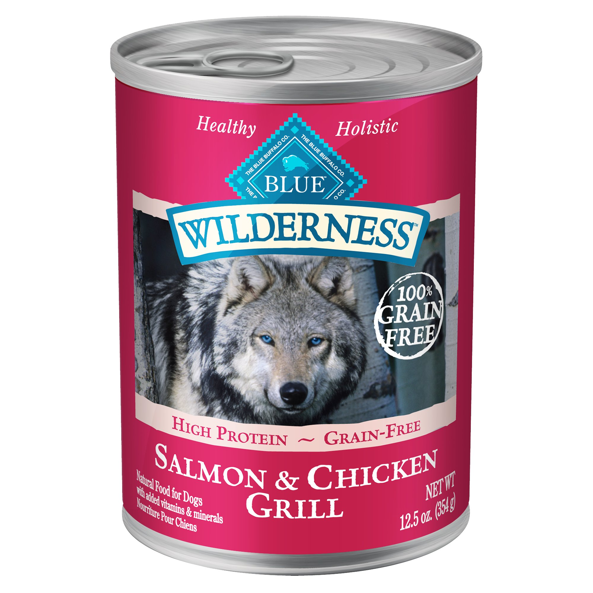 Blue Buffalo Blue Wilderness Salmon Amp Chicken Grill Wet