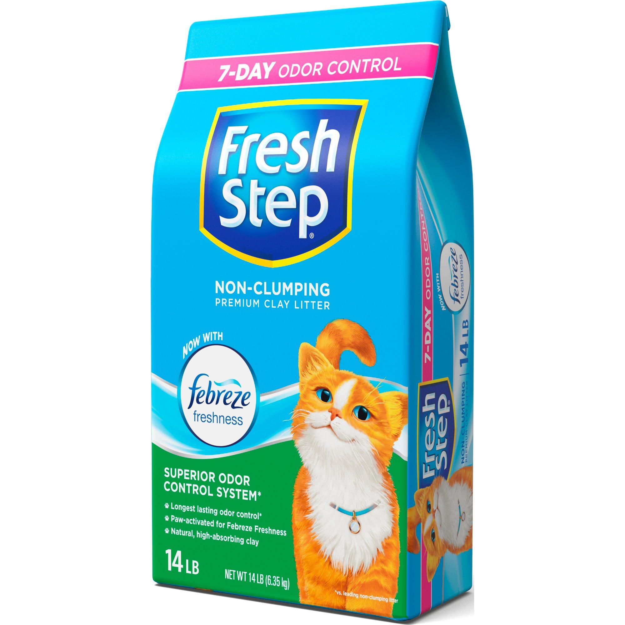 fresh step premium clay cat litter - Cat Litter Reviews