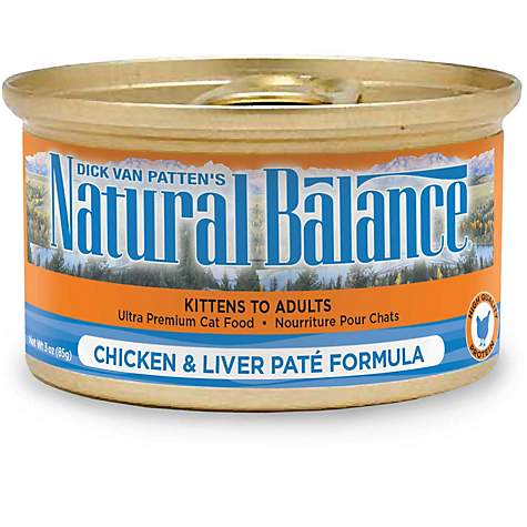 Natural Balance Ultra Premium Chicken Liver Pate Formula Wet Cat