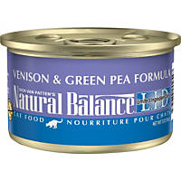 Natural Balance Limited Ingredient Diets Venison & Green Pea Formula Canned Cat Food