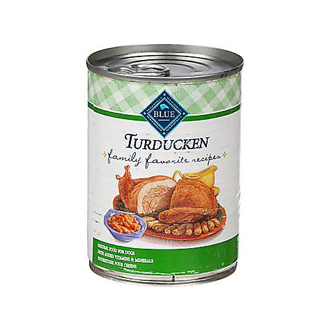 Blue Buffalo Blue Family Favorite Recipes Turducken Adult Canned Dog Food