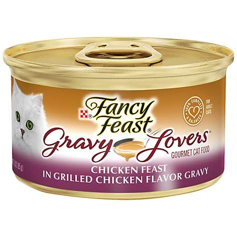 Fancy Feast Gravy Lovers Chicken Feast In Grilled Chicken Flavor Gravy Gourmet Cat Food