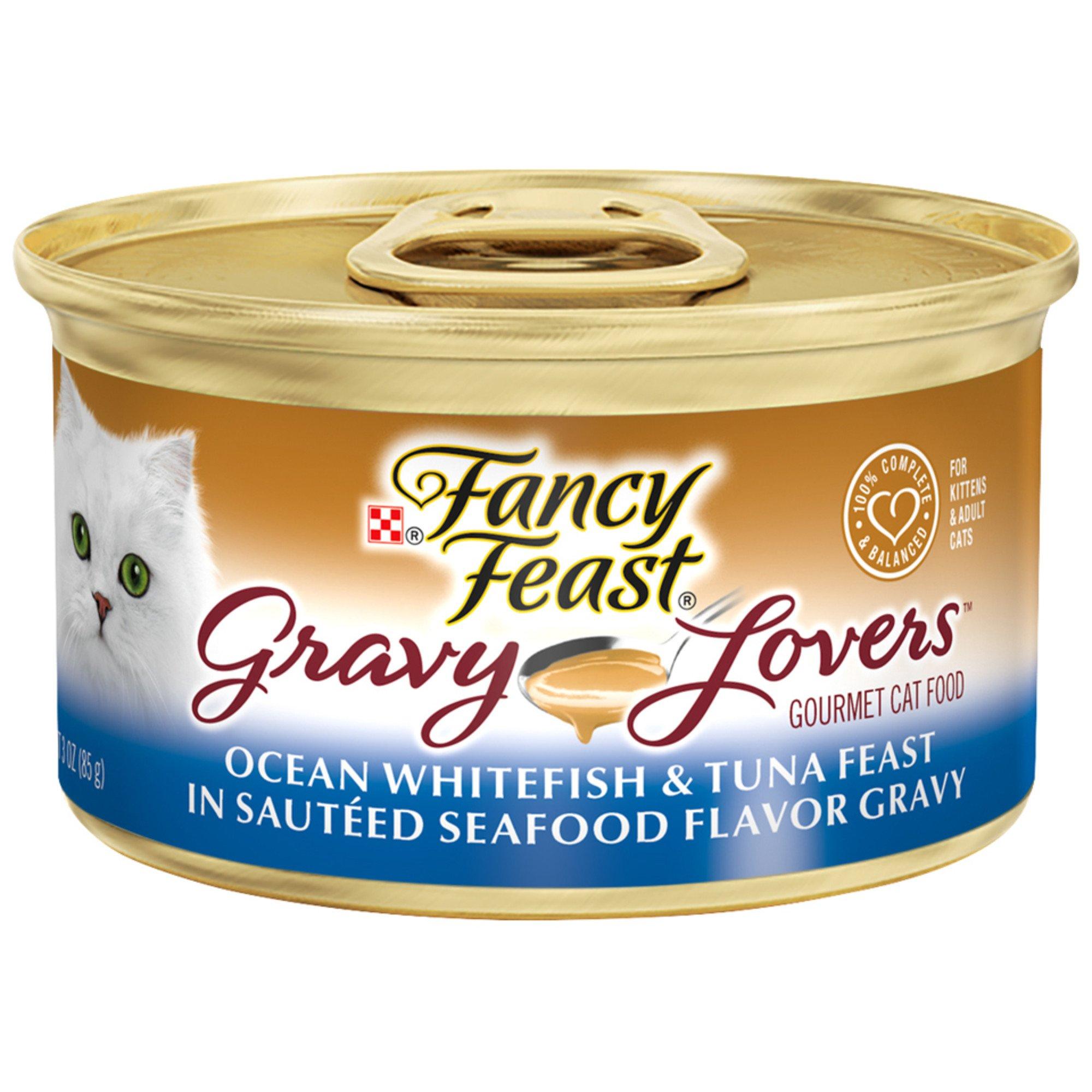 Fancy Feast Gravy Lovers Gourmet Canned Cat Food Ocean