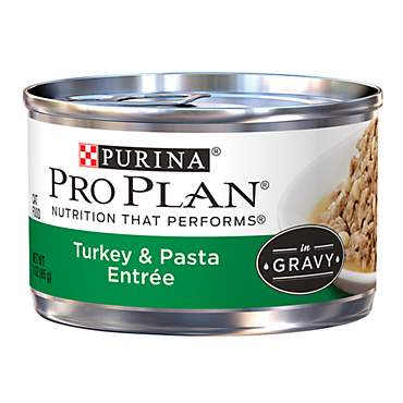 Pro Plan Savor Turkey & Pasta Adult Canned Cat Food in Gravy