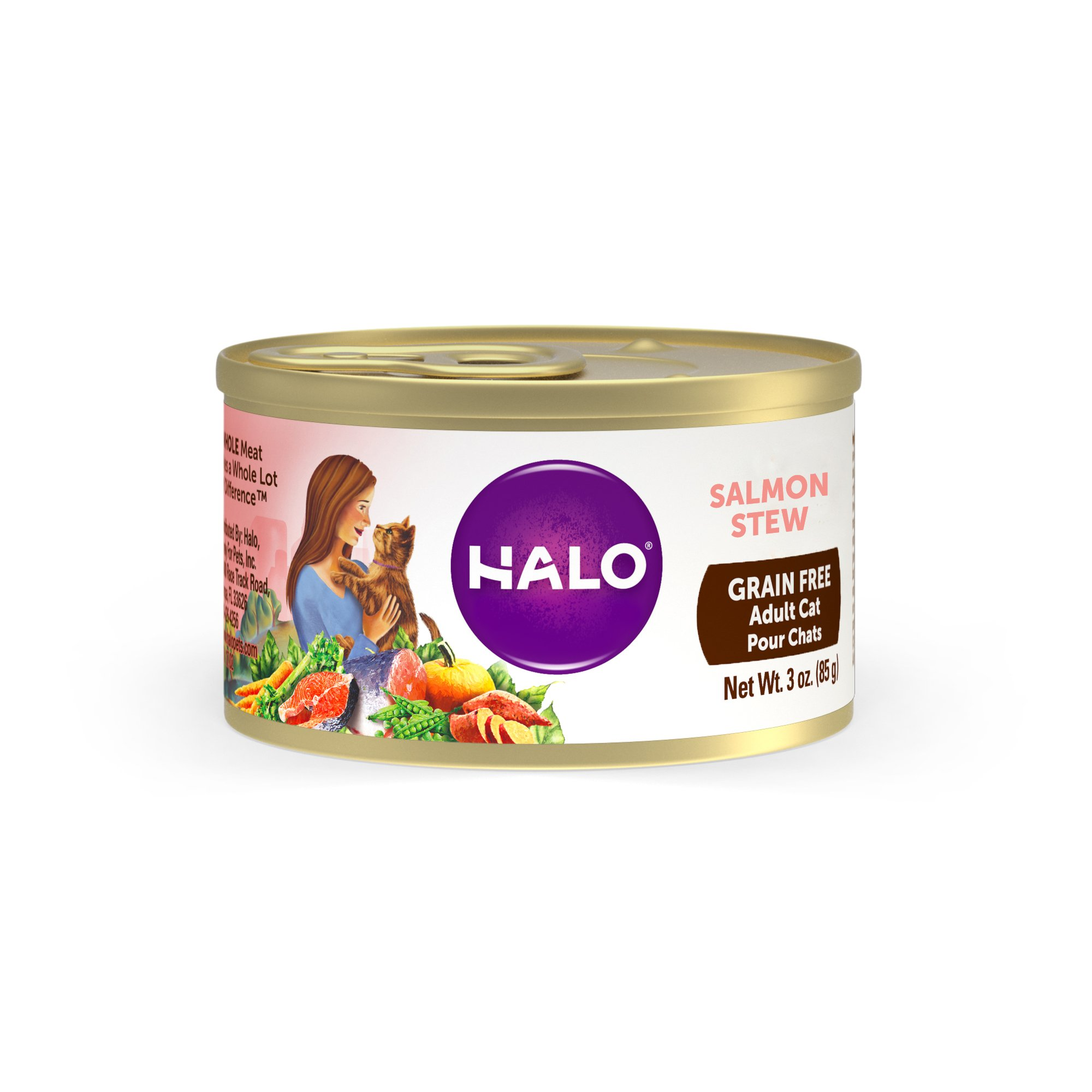 Halo Cat Food In Store