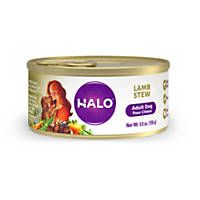 Halo Spot's Stew Wholesome Lamb Recipe Canned Dog Food