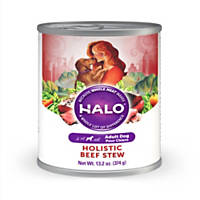 Halo Spot's Stew Recipe Canned Dog Food, Beef