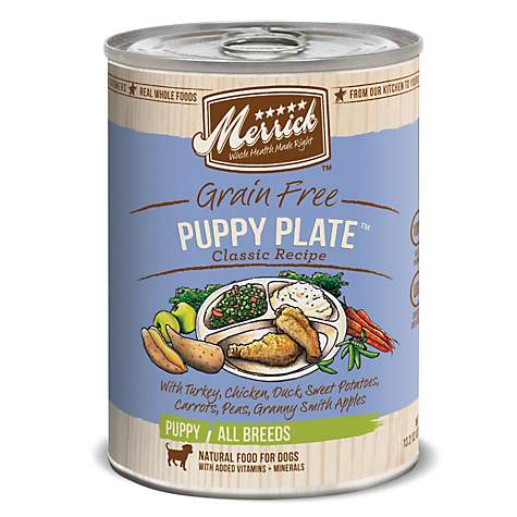 Merrick Classic Grain Free Puppy Plate Wet Puppy Food