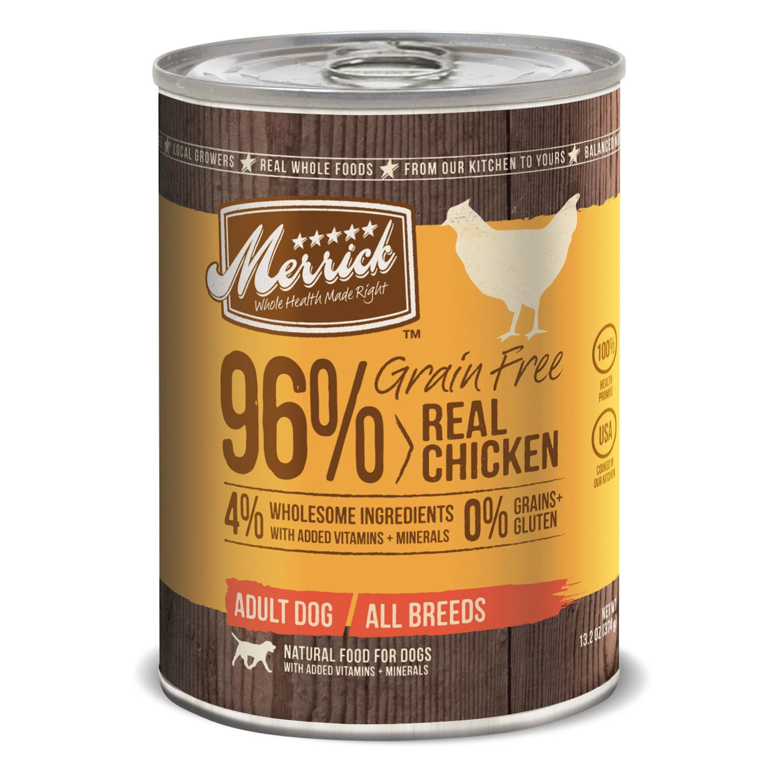 Merrick Grain Free 96 Real Chicken Wet Dog Food Petco