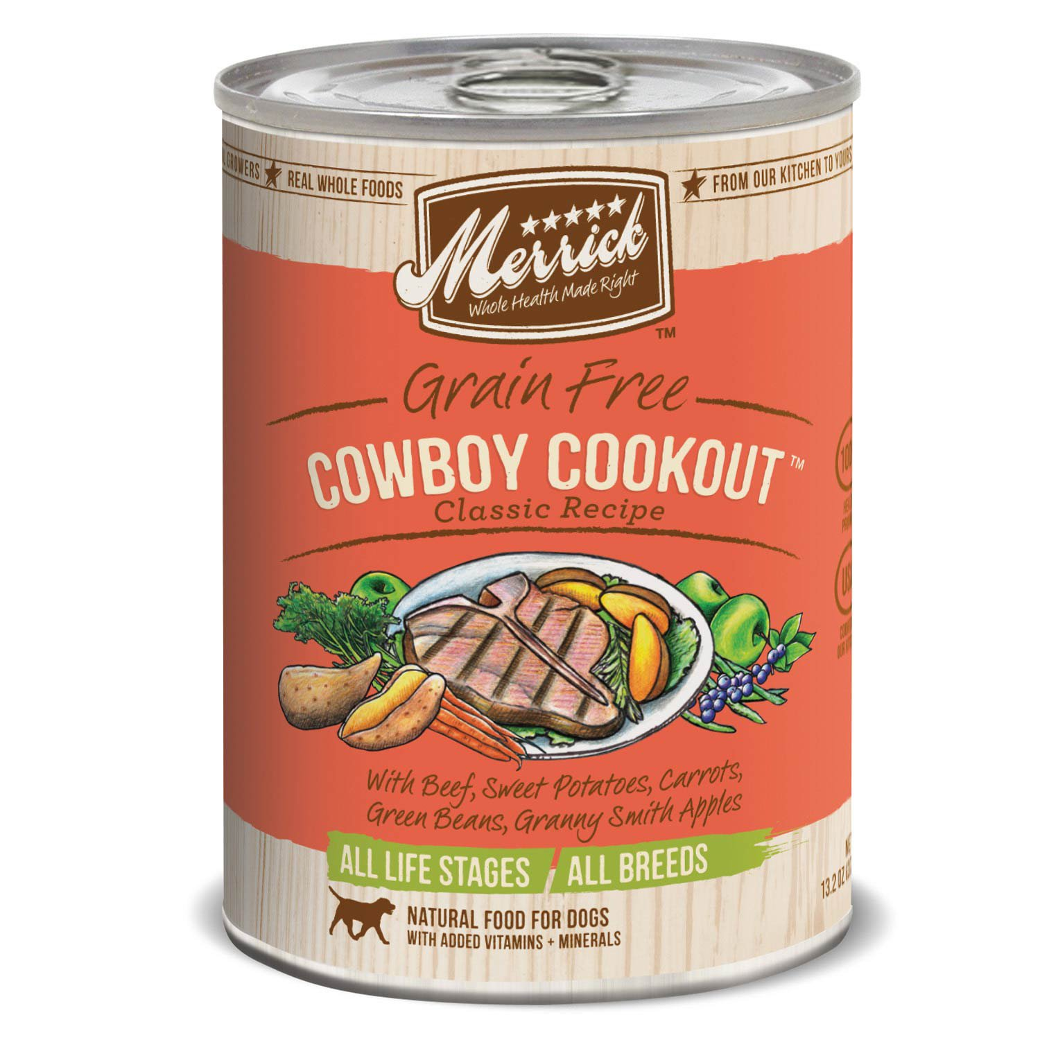 Merrick classic grain free cowboy cookout wet dog food petco forumfinder Images