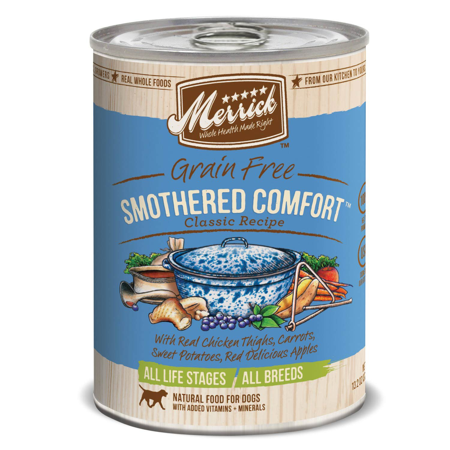 Merrick Classic Grain Free Smothered Comfort Wet Dog Food