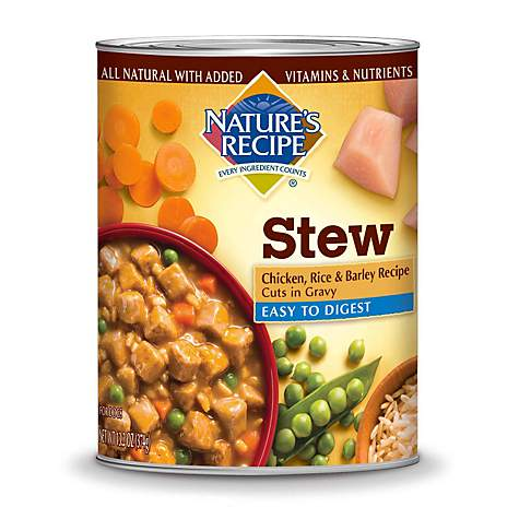 Natures recipe easy to digest chicken rice barley cuts in gravy natures recipe easy to digest chicken rice barley cuts in gravy adult canned dog forumfinder