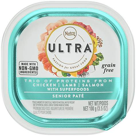 Nutro Ultra Chicken, Lamb and Salmon Senior Wet Dog Food