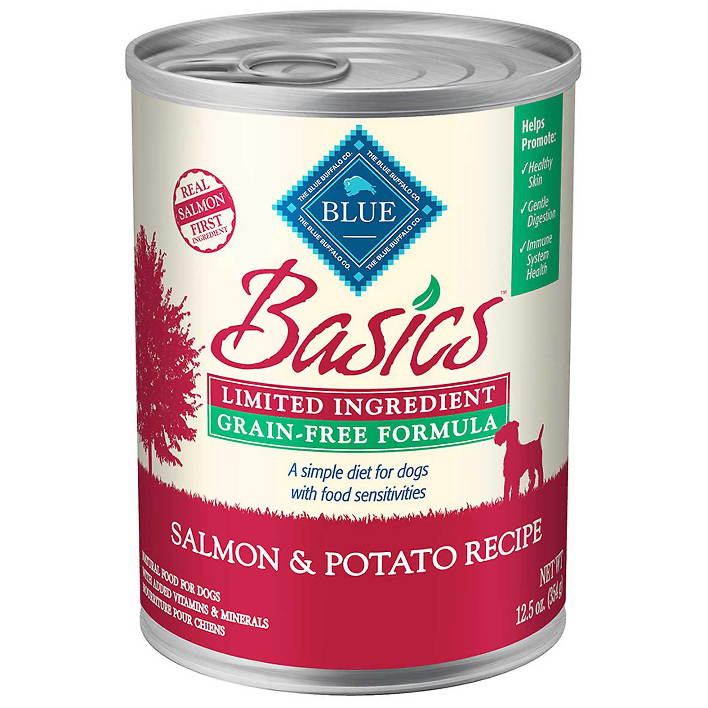 Blue Dog Food Salmon And Potato