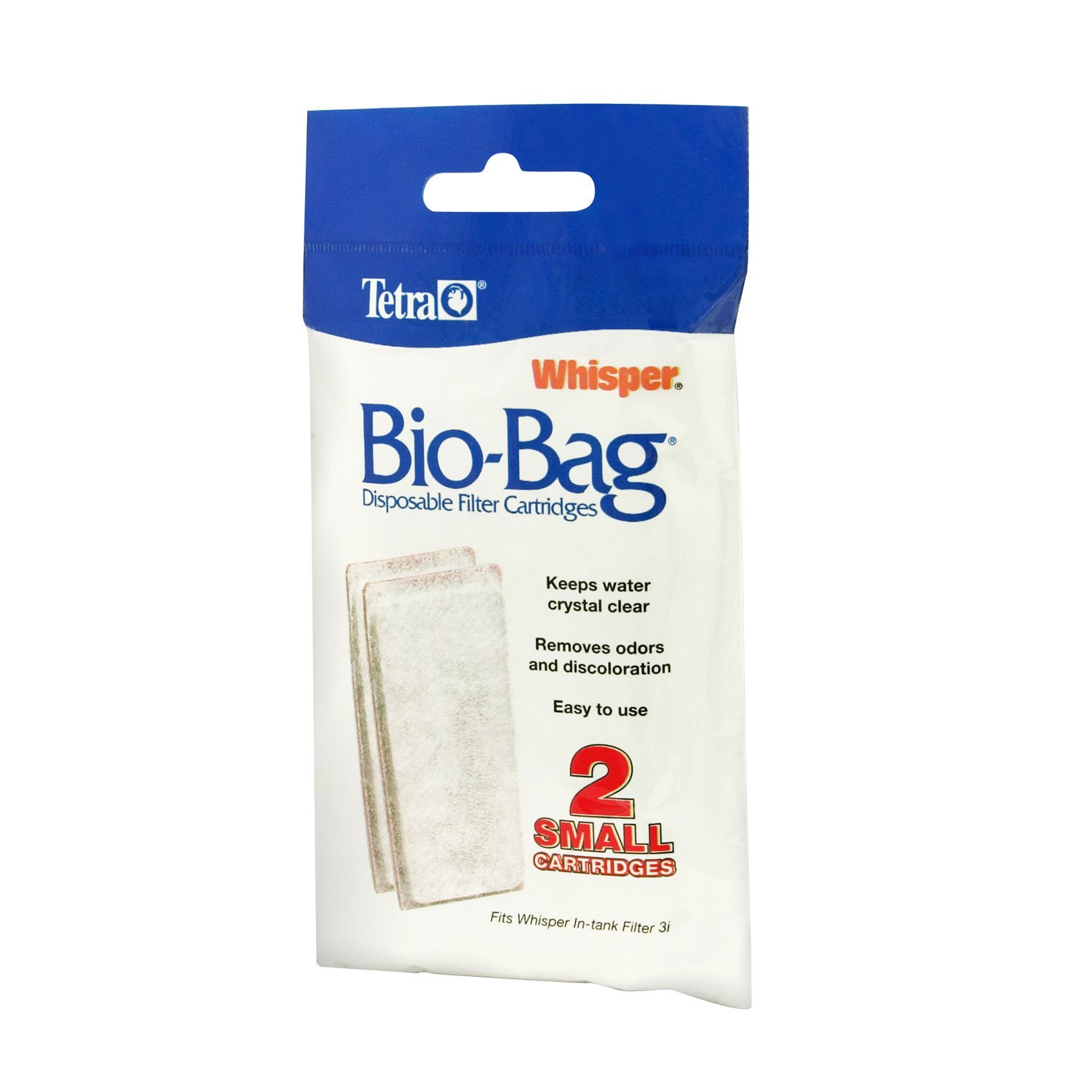 Tetra Whisper Bio Bag Disposable Filter Cartridges Small Pack Of 2 Petco