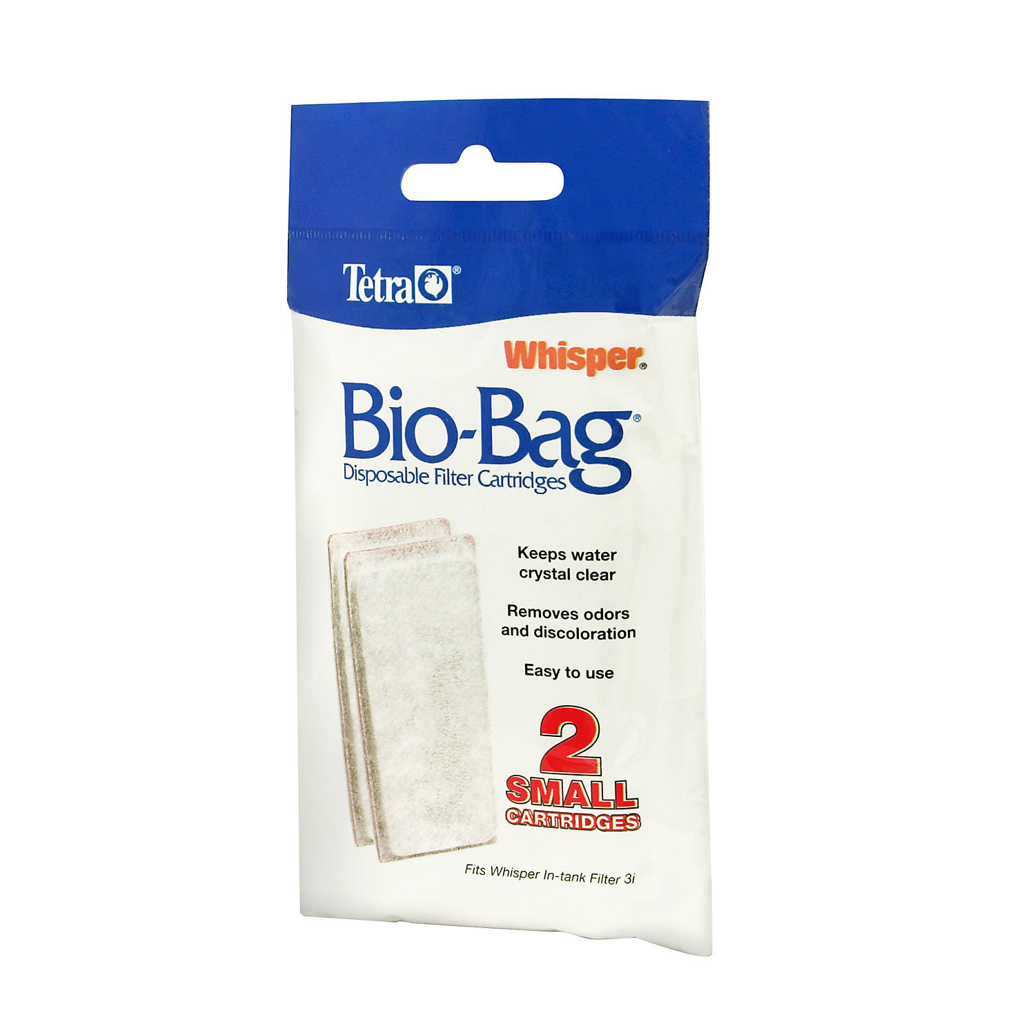 Tetra Whisper Bio Bag Disposable Filter Cartridges Small Pack Of 2 Cartridges