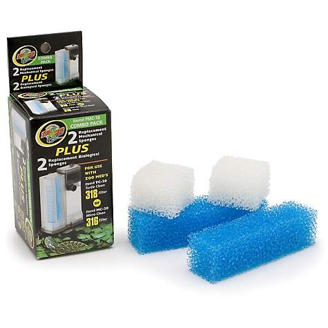 Zoo Med Combo Pack Replacement Sponges