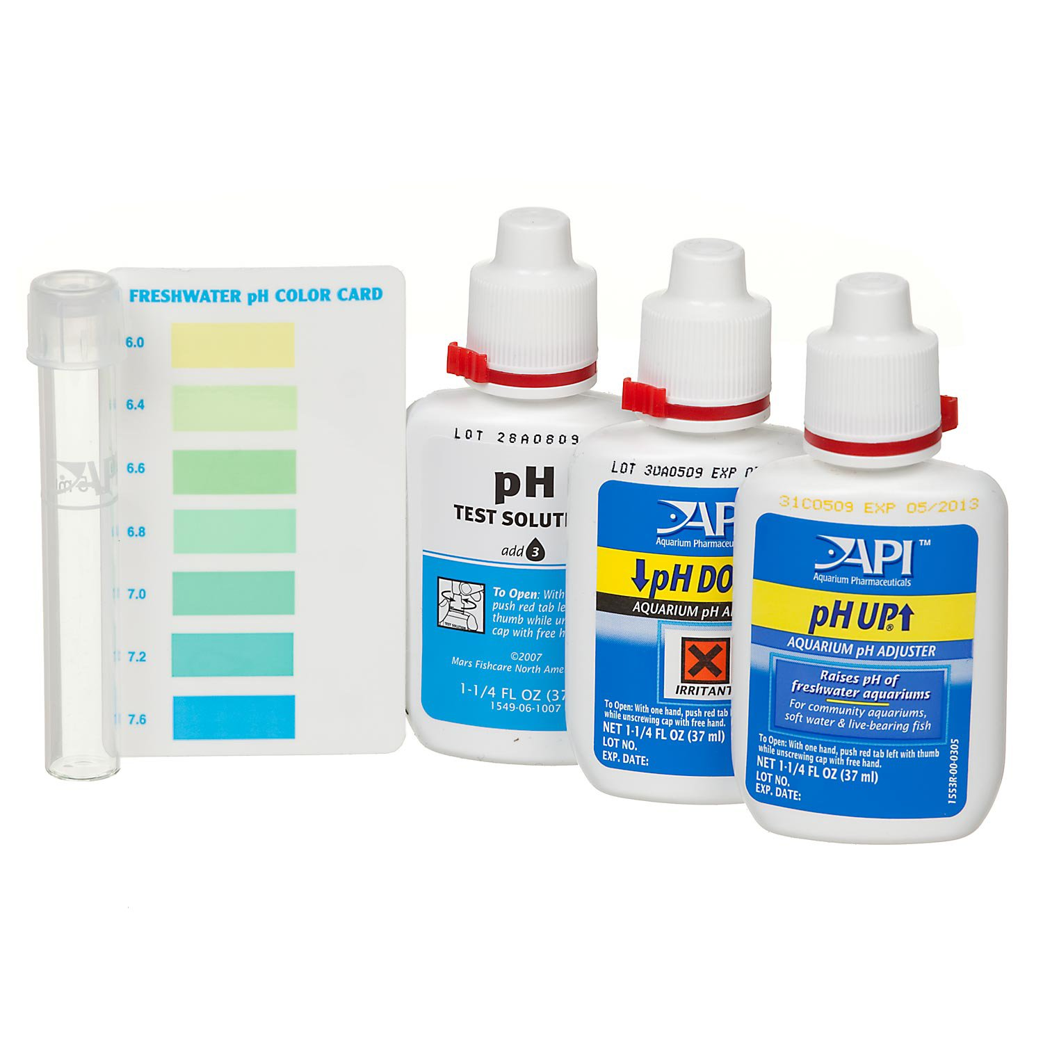 Api freshwater deluxe ph test kit petco for How to lower ph in fish tank
