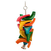 Mac's Creatures & Critters Quality Natural Bird Toy